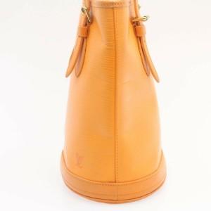 LOUIS VUITTON Epi Leather Bucket PM Shoulder Bag