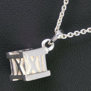 TIFFANY&Co Silver925 Atlas cube Necklace
