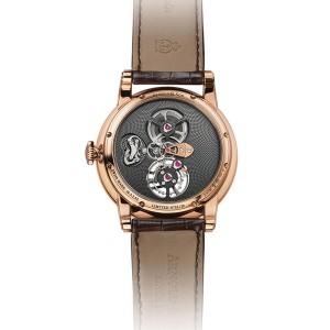 Arnold & Son TES Gold Sapphire Tourbillon 1SJAR.V01A 44 mm Mens Watch