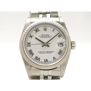 Rolex Datejust 78274 18k White Gold/Stainless Steel 30mm Unisex Watch