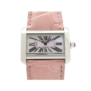 Cartier Mini Tank Divan  W6301455 H27mm_W31mm Womens Watch