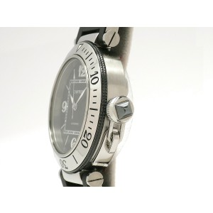 Cartier Pasha Seatimer W31077U2 40mm Mens Watch