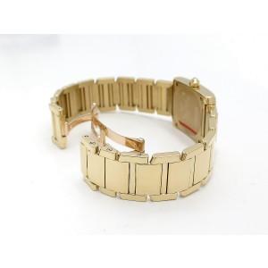 Cartier Tank Francaise WE1001R8 25mm x 20mm Womens Watch