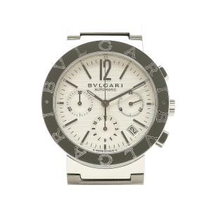 Bulgari Bulgari Bulgari 38 Chronograph BB38WSSDCH/N Stainless Steel 38mm Mens Watch