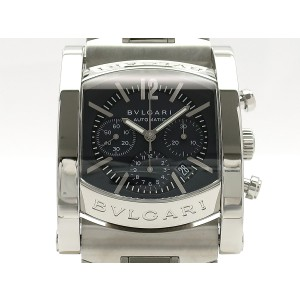 Bulgari Assioma 44 Chronograph Automatic AA44C14SSDCH Stainless Steel 44mm x 39mm Mens Watch