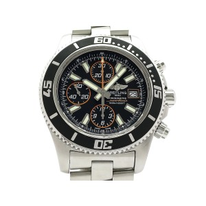 Breitling Superocean 44 Chronograph A110B85PSS Stainless Steel 44mm Mens Watch