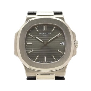 Patek Philippe Nautilus Automatic 5711G-001 Leather 42mm Mens Watch