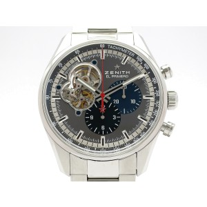 Zenit El Primero Chrono Master Ginza Limited 30 03.2041.4061/91.M2040 Stainless Steel 42mm Mens Watch