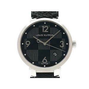 Louis Vuitton Tambour Q1D070 Leather 39mm Mens Watch