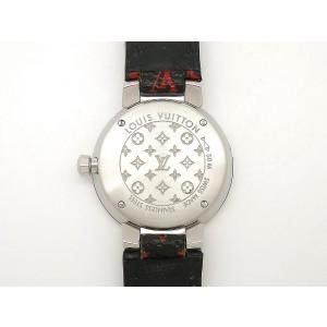 Louis Vuitton Tambour Monogram Q12MG 28mm Womens Watch