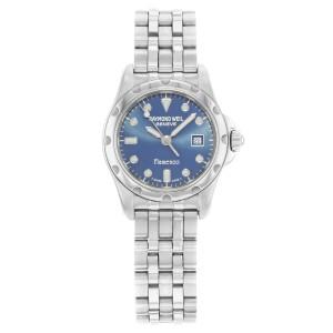 Raymond Weil Flamenco Stainless Steel Blue Dial Quartz Ladies Watch 5370S-BLU