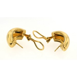Tiffany & Co. Paloma Picasso 18K Yellow Gold Earrings
