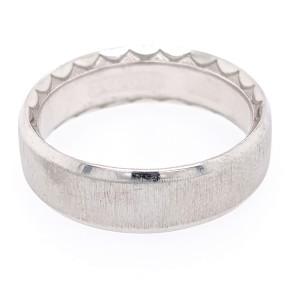 Tacori 18k White Gold  Ring