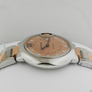 Cartier Ballon Bleu WE902053 Stainless Steel and 18K Rose Gold Watch