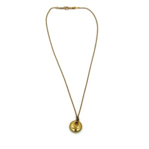 Tiffany & Co. Elsa Peretti 18K Yellow Gold Necklace