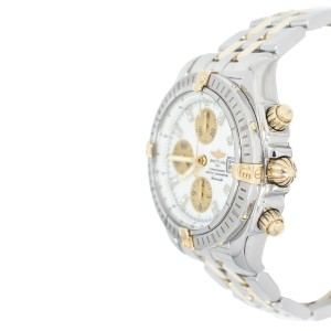 Breitling B13356 Chronograph Evolution Diamond Stick 18K gold Men's Watch
