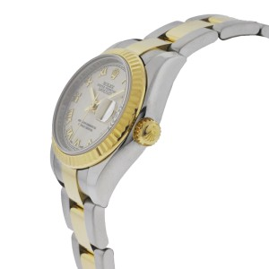 Rolex Datejust 179173 G Pyramid 26mm Two Tone Watch