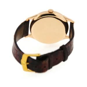 Zenith 18K Rose Gold  Mens Watch