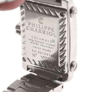 Philippe Charriol Columbus Stainless Steel Diamond Bezel Ladies Watch