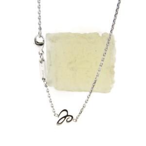 Chopard Happy Floating Diamonds 18K White Gold Heart Pendant Necklace