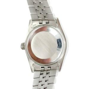 Rolex Datejust 6824 Stainless Steel Diamond Unisex Watch 33mm
