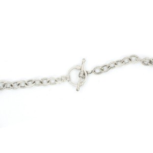 Pearls Sterling Silver Necklace