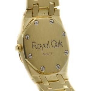 Audemars Piguet Royal Oak  18Kt Yellow Gold  Quartz Womens Watch