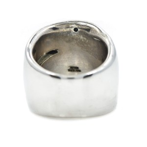 Sterling Silver Marcasite Stones Cocktail Style Ring