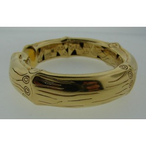 John Hardy 18K Yellow Gold Bamboo Bangle