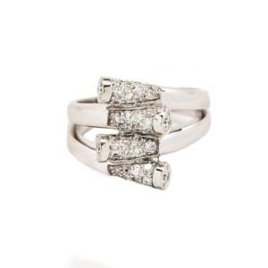 14K White Gold 1.06 ct. Diamond Ring