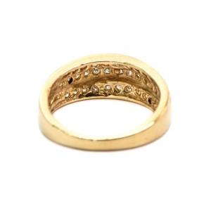 14K Yellow Gold 0.70 ct Diamond Ring