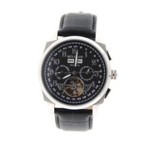 Millage Tourbillion Collection Stainless Steel Watch
