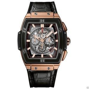 Hublot Spirit Of Big Bang Chronograph 601.om.0183.lr 18K Rose Gold 45mm Mens Watch