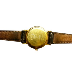Gucci 3000L Gold Plated 25mm Watch