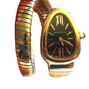 Bulgari Serpenti Tubogas  SP35BSPG.1T 35mm Watch
