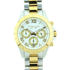 Michael Kors Two Tone Chronograph MK5455 Stainless Steel Watch