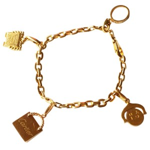 Cartier 18K Yellow Gold Charm Bracelet