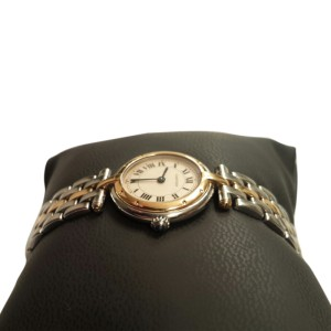 Cartier Couger 24mm Stainless Steel & Yellow Gold Watch