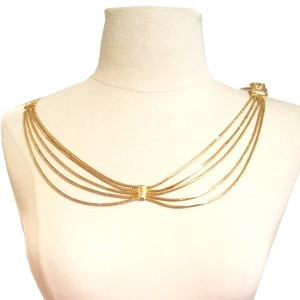 Christian Dior 20s Gatsby Style 5 Strand Belt or Necklace