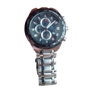 Casio Edifice Chronograph EF 539D 1AVDF Stainless Steel 48.5mm Watch