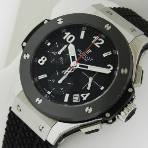 Hublot Big Bang 342.SB.131.RX Stainless Steel Chronograph 41mm Mens Watch