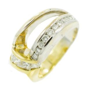 Diamond Mens Ring Size 6.75