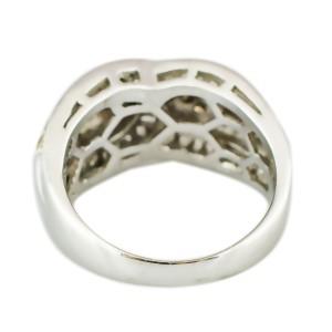White White Gold Diamond Ring Size 7
