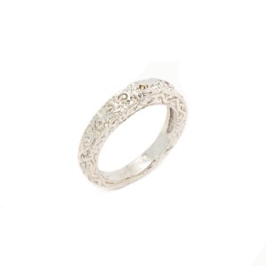White White Gold Womens Ring Size 6