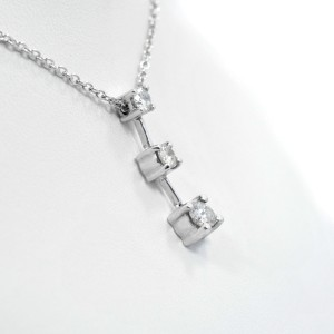White White Gold Diamond Womens Pendant