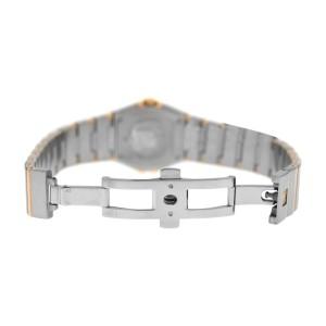 Omega Constellation 123.20.27.60.05.001 Full Bar 18K Gold Quartz Watch