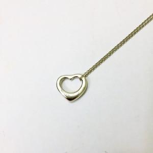 Tiffany & Co. Elsa Peretti Open Heart Necklace