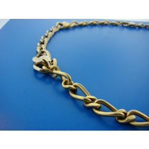 Pomellato 18K Yellow & White Gold Link Necklace