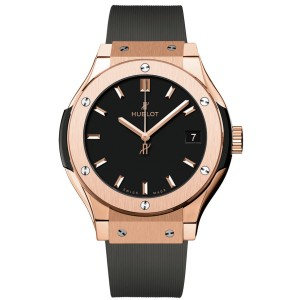 Hublot 581.ox.1181.rx Classic Fusion Quartz 18K Rose Gold 33mm Unisex Watch