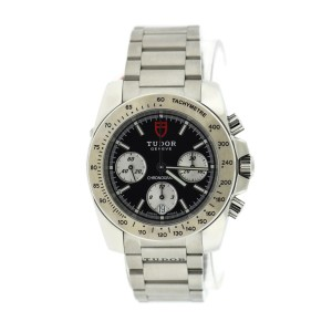 Tudor Sport Stainless Steel 41mm Mens Watch